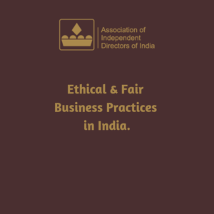 Ethical & Fair Business Practices in India